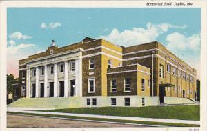 Memorial Hall Joplin Missouri Curteich