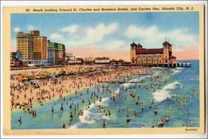 Beach, Garden Pier, Atlantic City NJ