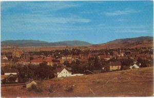 View of Helena Montana MT 1960