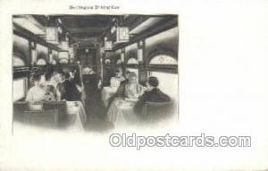 Burlington Train, Trains, Locomotive, Old Vintage Antique Postcard Post Card ...