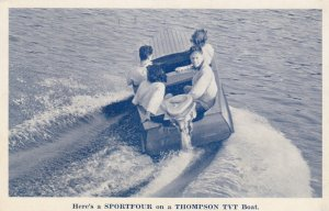 MILWAUKEE , Wisconsin , 1940-50s ; SPORTFOUR Motors for boats