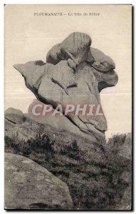 Old Postcard Ploumanac pm The Head of Belier