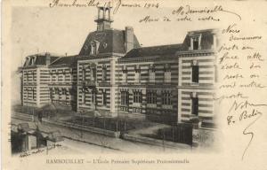 CPA RAMBOUILLET-École Primaire Superieure Professionnelle (260281)