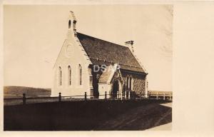 C5/ West Hartford? Connecticut Photo RPPC Postcard c1910 Antique Store Church