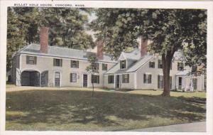 Massachusetts Concord Bullet Hole House