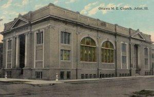 JOLIET, Illinois, PU-1914; Ottawa M. E. Church