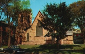 St. Albans, VT, St. Luke Episcopal Church, Chrome Vintage Postcard g9281