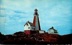 Canada Nova Scotia Yarmouth Lighthouse At Cape Forchu