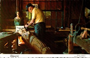 Connecticut Mystic Seaport Shipcarver