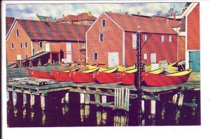 Lunenburg, Nova Scotia, Wharves, Red Boats, Keith Young,