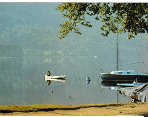 Post Card Collections Images of Britain Series Lake Fishing