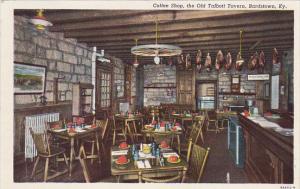 Kentucky Bardstown Coffee Shop Old Talbott Tavern Curteich