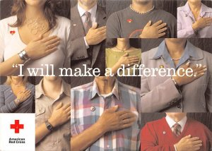 I Will Make a Difference. American Red Cross Unused