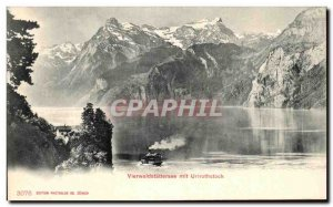 Postcard Old Vierwaldstattersee put Urirothstock