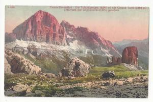 Italy Alps Tirol Dolomiten Tofanagruppe Cinque Torri Postcar