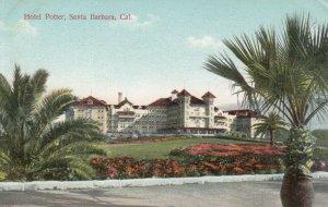 SANTA BARBARA , California , 1900-10s ; Hotel Potter