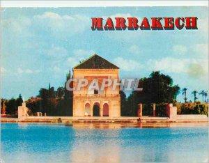 Postcard Modern Marrakech Menara