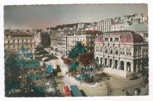 RP  Alger - Le Theatre - Place Bresson, Algeria,  1910-30s