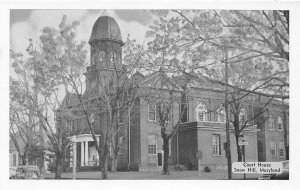 F59/ Snow Hill Maryland Postcard c1940s Court House