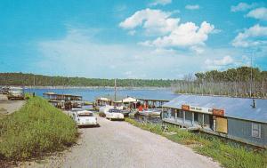 BULLS SHOALS LAKE, Arkansas , 50-60s; Classic Cars ; Tucker Hollow Boat Dock