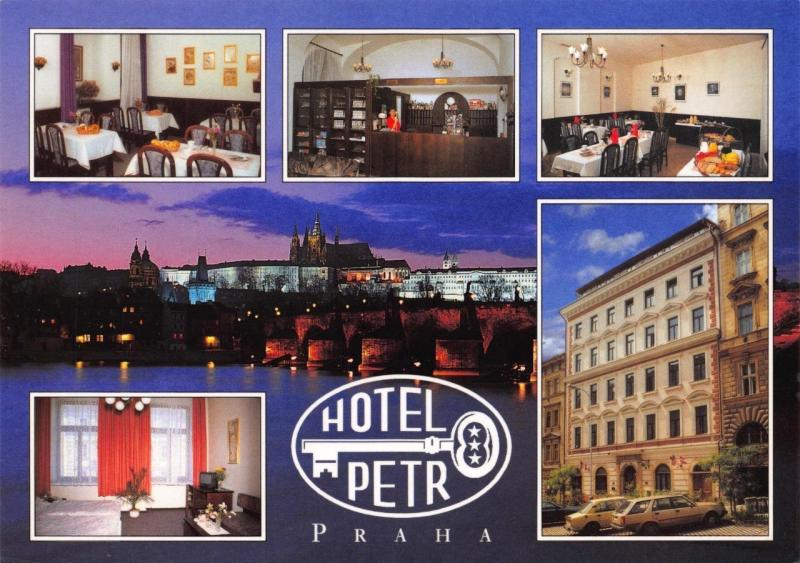 Postcard Hotel Retr Praha PRAGUE Czech Republic Multiview