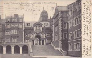 Entrance To Dormitories, University Of Pennsylvania, Philadelphia, Pennsylvan...