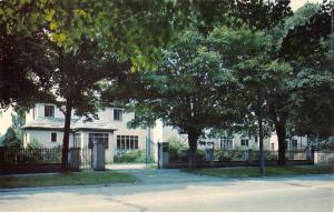 Ripley New York Hamilton Foundation Street View Vintage Postcard K99206