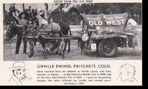Colorado Pritchett Orville Ewing & His Touring Menagerie Curteich