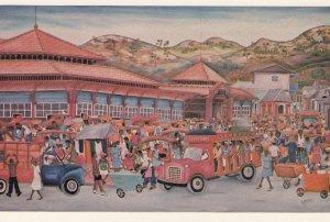 HAITI , 1950-70s ; Nader's Art Gallery - Show Room - Marche du Cap Haitien