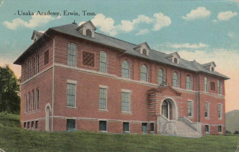 ERWIN , Tennessee , 1918 ; Unaka Academy