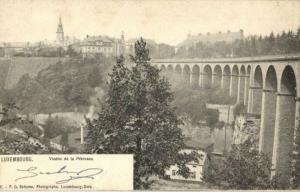 CPA Luxembourg Viaduc de la Pétrusse (30821)