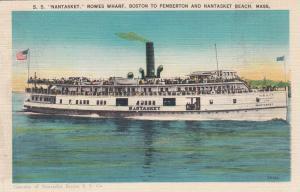 NANTASKET BEACH , Massachusetts, 1914; S.S. NANTASKET
