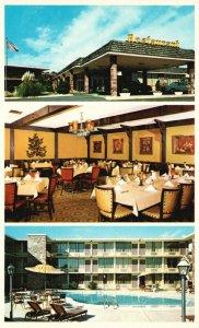 Benton, Arkansas, AR, Holiday Inn, Interstate 30, Chrome Vintage Postcard h4735