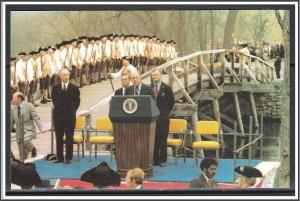President Gerald R Ford Celebration at the Old North Bridge Concord - [MX-290]