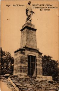 CPA St Cyr au Mond D'Or - L'Ermitage du Mt-Cindre La Vierge (573122)