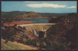 Don Pedro Dam,CA Postcard BIN