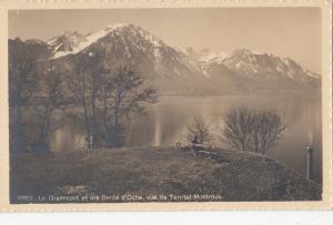 BF19095 le grammont les dents d territet montreux switzerland  front/back image