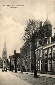 CPA Franeker Voorstraat, Martenahuis NETHERLANDS (729024)