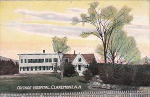 New Hampshire Claremont Cottage Hospital 1911