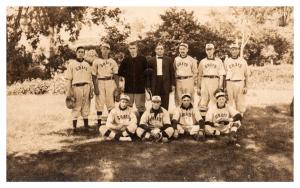 Connecticut  Plainfield , Moosup Grays Baseball Team ,   RPC