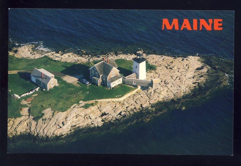 Southport, Maine/ME Postcard, Hendrick's Head Light/Lighthouse, Boothbay Harbor