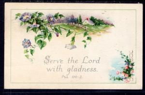 Serve the Lord With Gladness Psalm 100