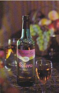 Advertising Solera Canadian Sherry Chateau Gai Wines Niagara Falls Canada