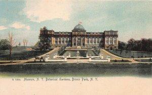 Museum of New York Botanical Gardens, Bronx Park, N.Y., early postcard, unused
