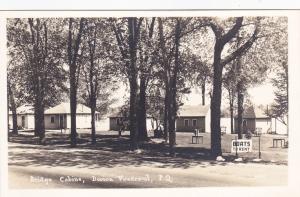 RP; DORION VAUDREUIL, Quebec, Canada, 1900-1920's; Bridge Cabins