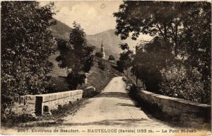 CPA  Environs de Beaufort - Hauteluce (Savoie) 1153 m - Le Pont St-Jean (651241)