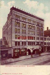 DAVIDSON THEATRE AND HOTEL, MILWAUKEE 1908
