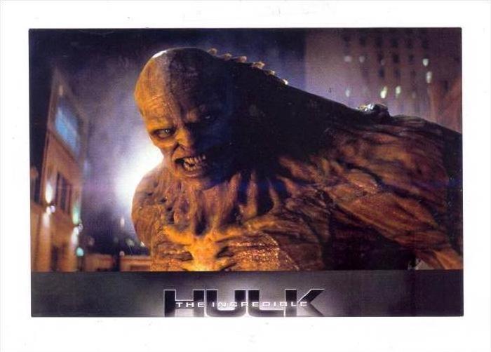 Movie Advertising postcard   The Incredible HULK   # 2