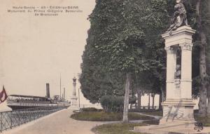 EVIAN-LES-BAINS, Haute Savoie, France, 1900-10s; Monument du Prince Gregoire ...