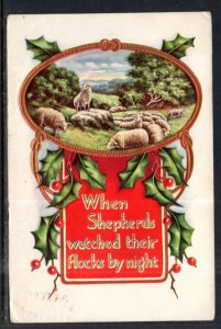 Christmas,When Shepherds Watched Their Flocks By Night